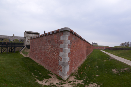 Old fort Niagara in New York state