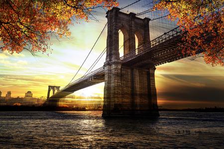 New York City - Manhattan après le coucher du soleil - magnifique paysage urbain
