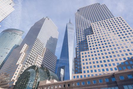 Cityscape view of Manhattan, New York City