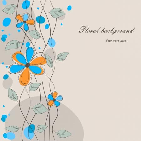 winder: floral background