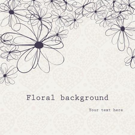 summer background: floral background