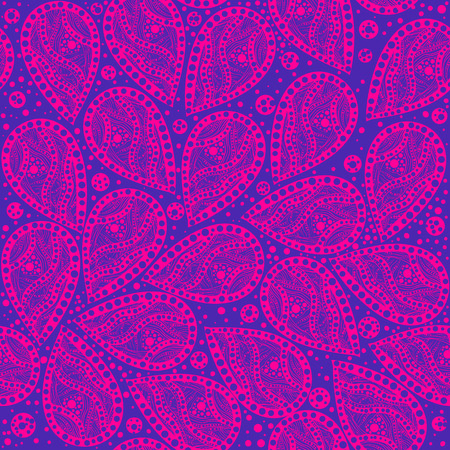 seamless paisley ornament Vector