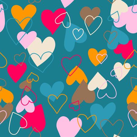 seamless   hearts Illustration