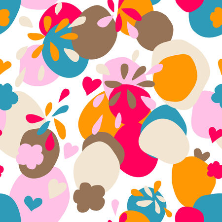 colorful seamless pattern Illustration