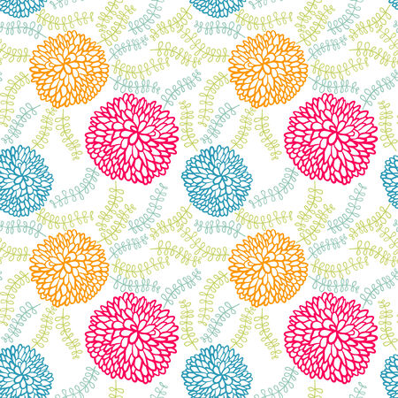 seamless flowers Vector