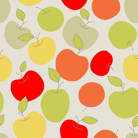 seamless apples