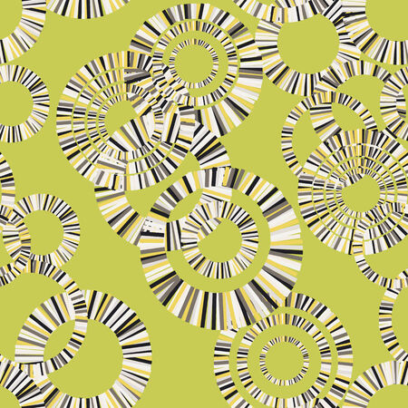 abstract seamless round shapes