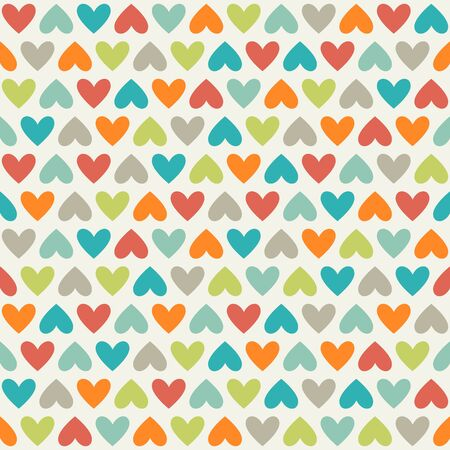gree: Seamless pattern with hearts