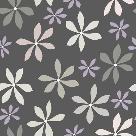 seamless floral pattern illustration vectorielle