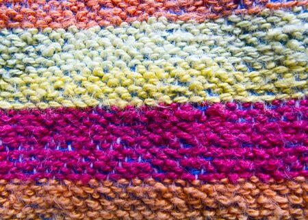 Pretty striped towel photo
