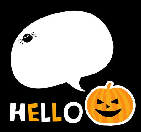 halloween note Stock Vector - 23244424