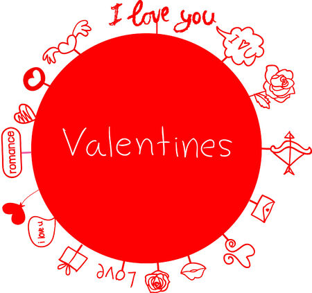 valentine world Vector