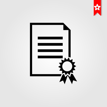 charter line icon flat style isolated on background. charter icon sign symbol for web site and app design.