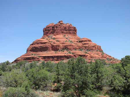 sedona: Bell Rock, Sedona Arizona Stock Photo