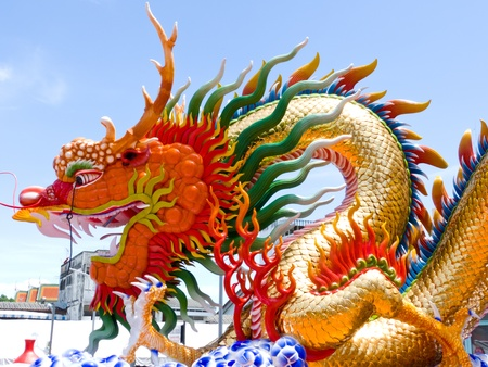 power dragon are typical mythological fortune photo