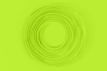 Abstract light background of many rotating thin volumetric paper circles 3D illustration Foto de archivo - 151373332