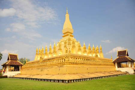 pra: Wat Pra That Luang, Lao