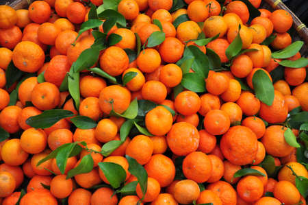 The small orange for sale