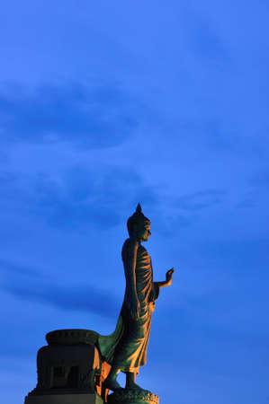 Buddha at Buddhamontol Stock Photo