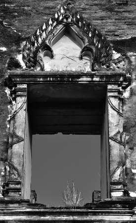 Thai old style window Stock Photo - 7632221