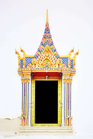 Thai style window photo