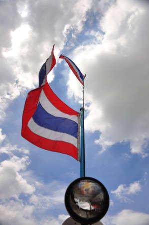 Thai flag Stock Photo - 7969373