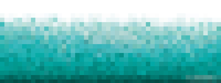 Pixel blue Background for card or poster - isolated vector illustration