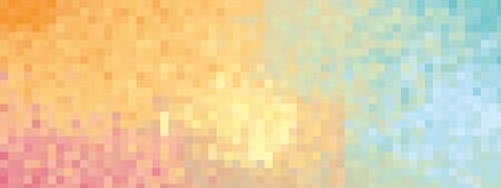 Colorful background red orange yellow green blue mix - isolated illustration