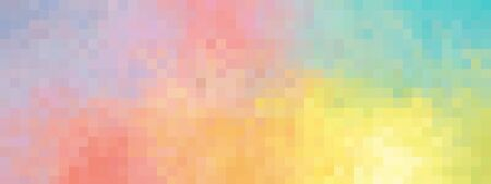 Colorful background red orange yellow green purple mix - isolated illustration