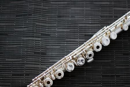 A close-up flute