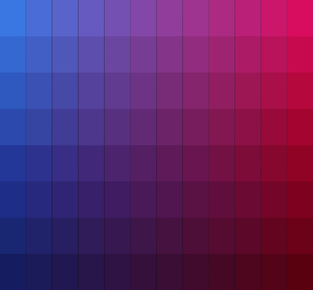 pantone: Shades of colors chart.Color box. Vector illustration pantone.