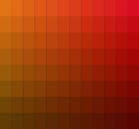 chromatic: Shades of colors chart.Color box. Vector illustration pantone.