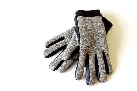 grey glove, hold hand