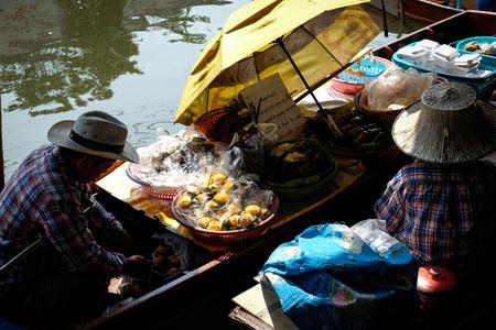 umbella: River market Thailand dessert Stock Photo
