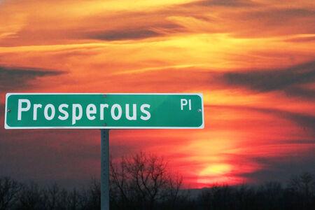 prosperous: Prosperous Place Sign