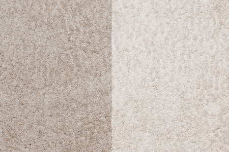 Wit schoonmaken met tapijtdutje voor en na Stockfoto - 107140884