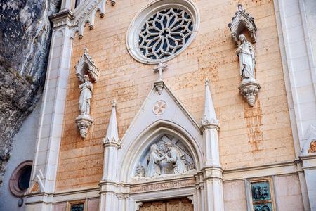 Photo View of Madonna della Corona Sanctuary, Italy