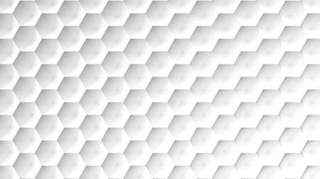 pattern grid white background. 3d rendering Stock Photo