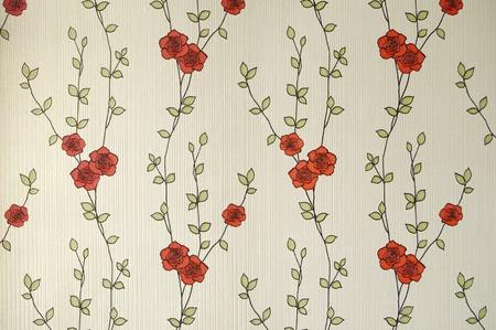 Pattern of Romantic Rose Standard-Bild