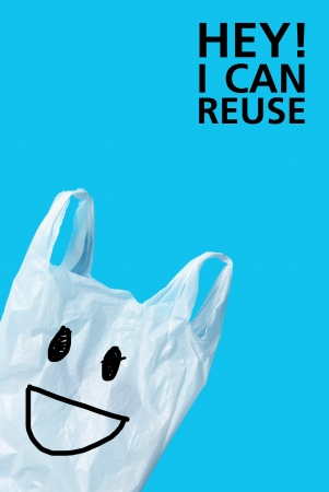 plastic: I can reuse