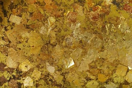 Gold Foil Background