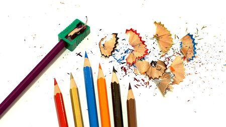 Sharpener , Colored Pencils