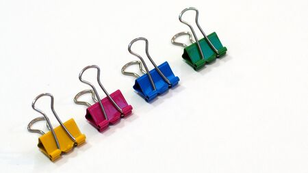 Binder Clip , colored