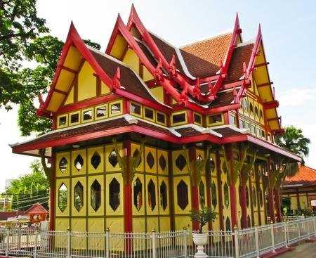 pavillion at Hua Hin train station Stock Photo - 10009176