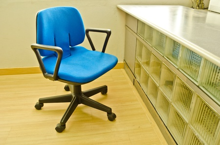 Chair with nobody in office