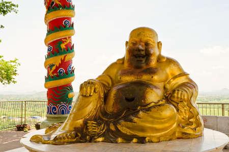 bodhisattva: old bodhisattva image at temple