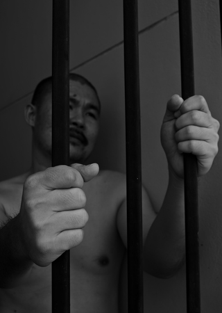 Prisoner in jail Stock Photo - 22916051