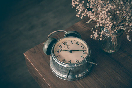 old classic clock Stock Photo