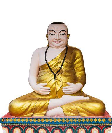 Meditationsstatue der Buddha-Skulptur