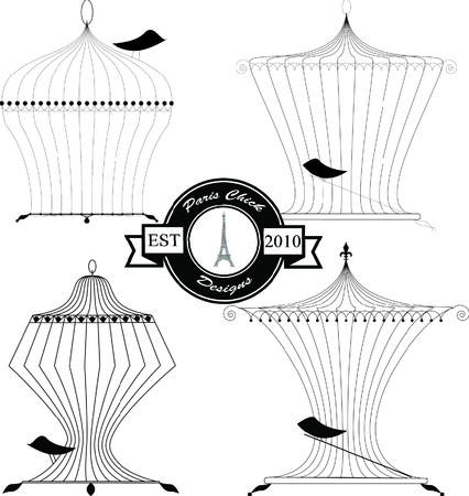 Paris Chick Designs - Birdcage Graphic Pack